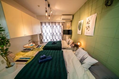 東京スカイツリーから近い、きれいなお部屋!駅から8分、無料Wi-Fi付き!